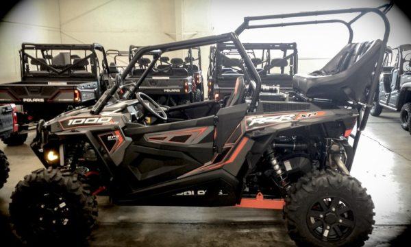 """REAR CAGE WITH 42"""""""" BENCH SEAT AND 2 HARNESSES POLARIS RZR XP 1000-0"""