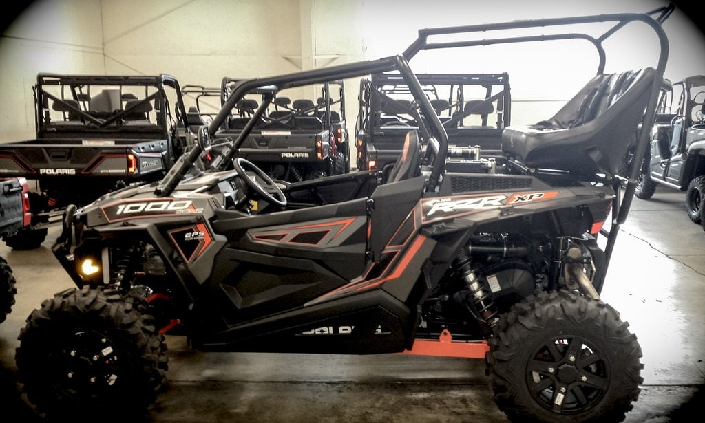 Rear Cage With 42 Quot Bench Seat And 2 Harnesses Polaris Rzr