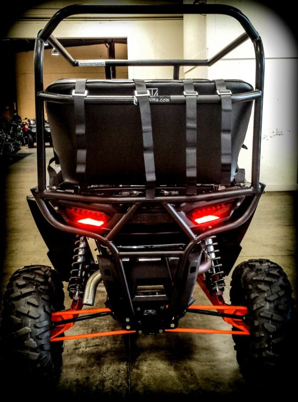"""REAR CAGE WITH 42"""""""" BENCH SEAT AND 2 HARNESSES POLARIS RZR XP 1000-16744"""