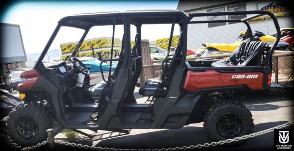 "REAR CAGE WITH 52"""" BENCH SEAT AND 3 HARNESSES CAN-AM DEFENDER-16728"