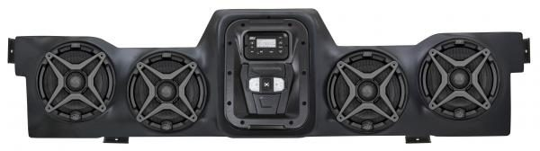 SSV WORKS BLUETOOTH STEREO SYSTEM 4 SPEAKER OVERHEAD CAN-AM COMMANDER/MAVERICK-0