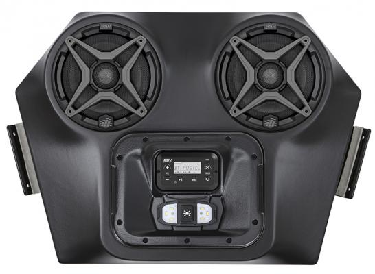 SSV WORKS 2 SPEAKER OVERHEAD WEATHER PROOF POLARIS RZR 570/800/900-17298