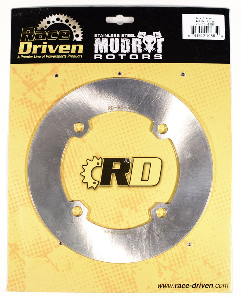RACE DRIVEN MUDRAT STAINLESS STEEL BRAKE ROTORS CAN-AM COMMANDER/MAVERICK-17477