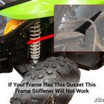 SUPER ATV FRAME STIFFENER ARCTIC CAT WILDCAT TRAIL-17385