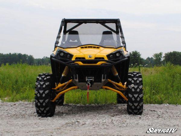 SUPER ATV HALF WINDSHIELD SCRATCH RESISTANT CAN-AM COMMANDER-17032