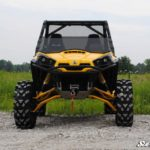 SUPER ATV HALF WINDSHIELD SCRATCH RESISTANT CAN-AM COMMANDER-17033