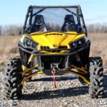 SUPER ATV FULL WINDSHIELD SCRATCH RESISTANT CAN-AM COMMANDER -0