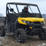 SUPER ATV HALF WINDSHIELD CAN-AM DEFENDER -TINTED-0
