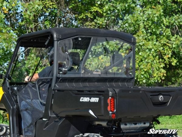 SUPER ATV REAR WINDSHIELD CAN-AM DEFENDER -0