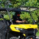 SUPER ATV FLIP WINDSHIELD SCRATCH RESISTANT CAN-AM DEFENDER -0
