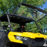 SUPER ATV FLIP WINDSHIELD SCRATCH RESISTANT CAN-AM DEFENDER -16755
