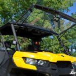 SUPER ATV FLIP WINDSHIELD SCRATCH RESISTANT CAN-AM DEFENDER -16755