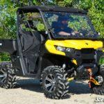 SUPER ATV FLIP WINDSHIELD SCRATCH RESISTANT CAN-AM DEFENDER -16756