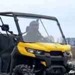 SUPER ATV FULL WINDSHIELD SCRATCH RESISTANT CAN-AM DEFENDER -17052