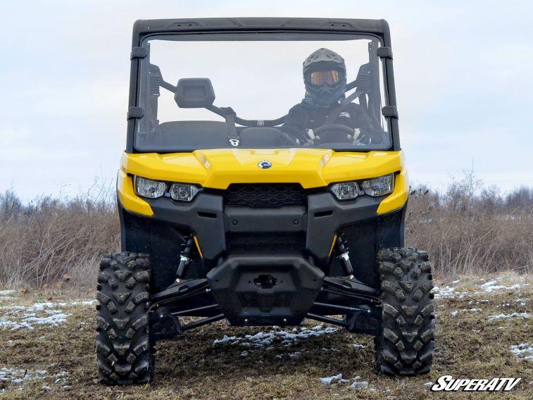 SUPER ATV FULL WINDSHIELD SCRATCH RESISTANT CAN-AM DEFENDER -0