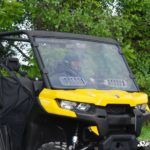SUPER ATV VENTED FULL WINDSHIELD SCRATCH RESISTANT CAN-AM DEFENDER -17054