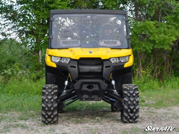 SUPER ATV VENTED FULL WINDSHIELD SCRATCH RESISTANT CAN-AM DEFENDER -0