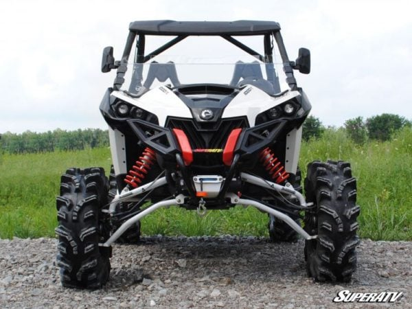 SUPER ATV HALF WINDSHIELD CAN-AM MAVERICK -0
