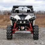 SUPER ATV FLIP WINDSHIELD SCRATCH RESISTANT CAN-AM MAVERICK -16757