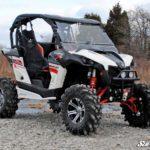 SUPER ATV FLIP WINDSHIELD SCRATCH RESISTANT CAN-AM MAVERICK -0