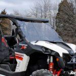 SUPER ATV FULL WINDSHIELD SCRATCH RESISTANT CAN-AM MAVERICK -17056