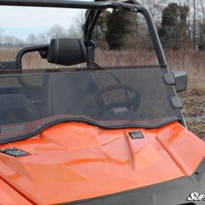 SUPER ATV HALF WINDSHIELD SCRATCH RESISTANT CFMOTO ZFORCE 800EX -0