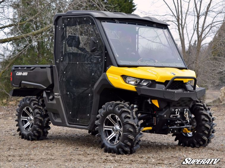 SUPER ATV FULL CAB ENCLOSURE AND DOORS CAN-AM DEFENDER -17064 : atv doors - pezcame.com