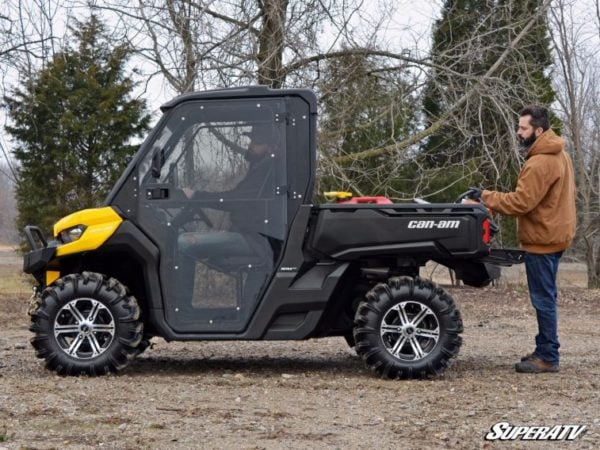 SUPER ATV FULL CAB ENCLOSURE AND DOORS CAN-AM DEFENDER -0