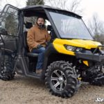 SUPER ATV FULL CAB ENCLOSURE AND DOORS CAN-AM DEFENDER -17065
