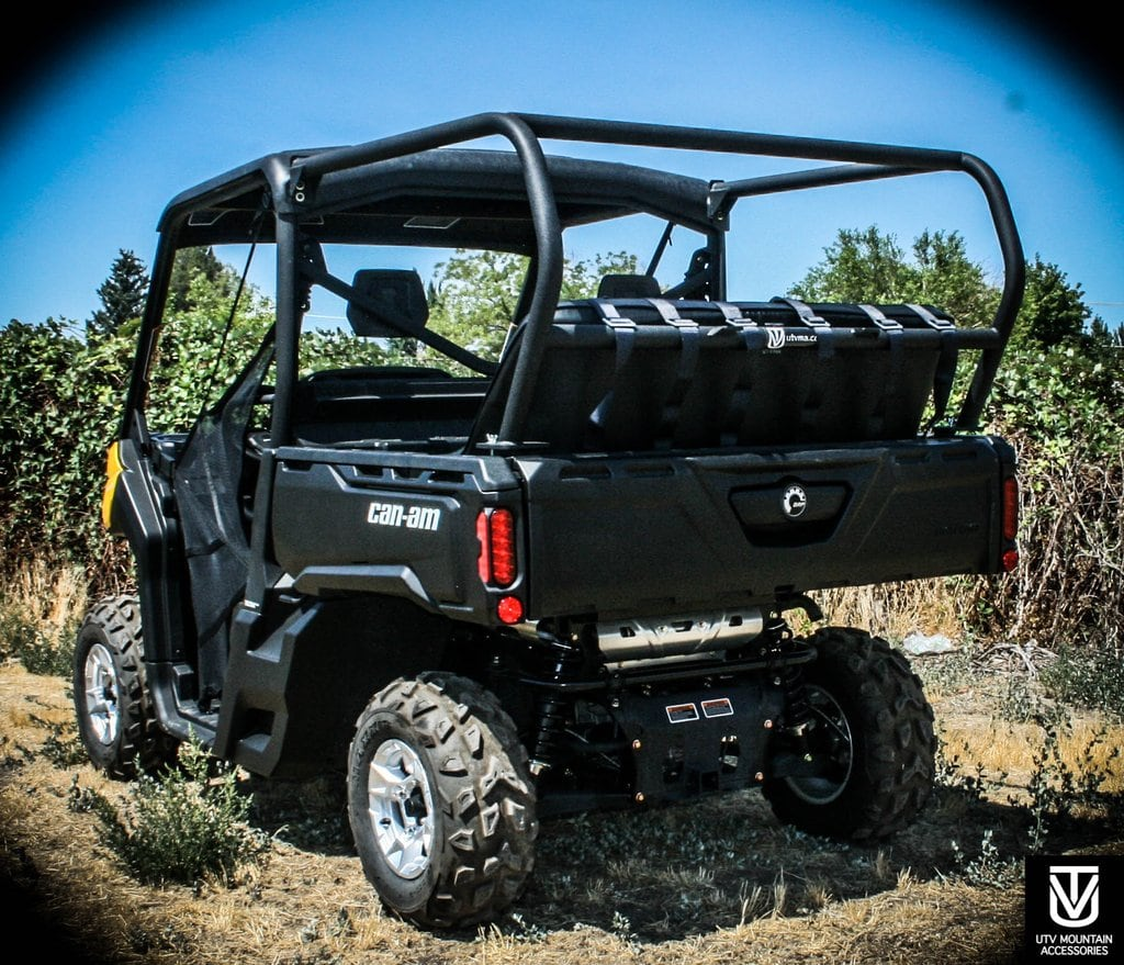 Incredible Rear Cage With 52 Bench Seat And 3 Harnesses Can Am Defender Defender Max Gmtry Best Dining Table And Chair Ideas Images Gmtryco