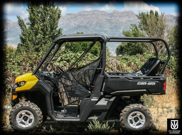 "REAR CAGE WITH 52"""" BENCH SEAT AND 3 HARNESSES CAN-AM DEFENDER-16731"