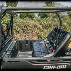 """REAR CAGE WITH 52"""""""" BENCH SEAT AND 3 HARNESSES CAN-AM DEFENDER-0"""