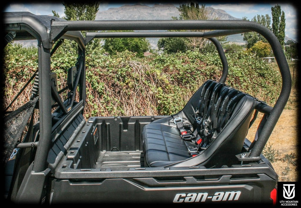 Awe Inspiring Rear Cage With 52 Bench Seat And 3 Harnesses Can Am Defender Defender Max Gmtry Best Dining Table And Chair Ideas Images Gmtryco