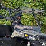 SUPER ATV FLIP WINDSHIELD SCRATCH RESISTANT HISUN SECTOR -0