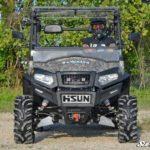 SUPER ATV FLIP WINDSHIELD SCRATCH RESISTANT HISUN SECTOR -17094