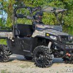 SUPER ATV FLIP WINDSHIELD SCRATCH RESISTANT HISUN SECTOR -17096