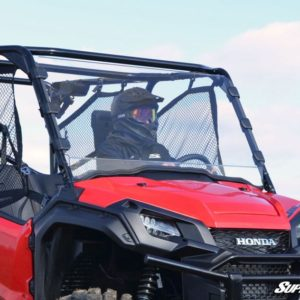 SUPER ATV FULL WINDSHIELD SCRATCH RESISTANT HONDA PIONEER 1000 -0
