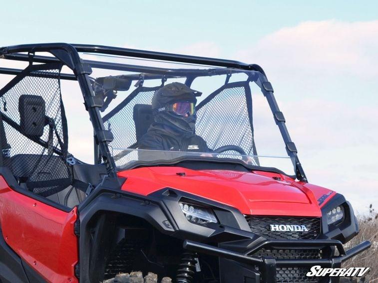 SUPER ATV FULL WINDSHIELD SCRATCH RESISTANT HONDA PIONEER 1000 -0