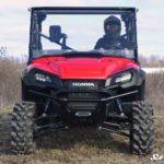 SUPER ATV FULL WINDSHIELD SCRATCH RESISTANT HONDA PIONEER 1000 -17089
