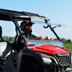 SUPER ATV FLIP WINDSHIELD SCRATCH RESISTANT HONDA PIONEER 500 -0