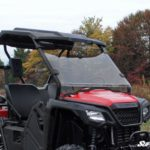SUPER ATV FULL WINDSHIELD SCRATCH RESISTANT HONDA PIONEER 500 -17090