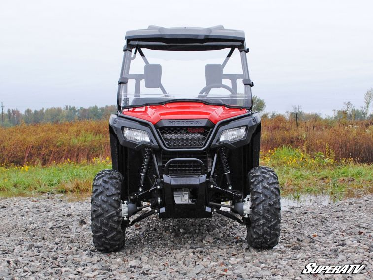 SUPER ATV FULL WINDSHIELD SCRATCH RESISTANT HONDA PIONEER 500 -0