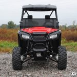 SUPER ATV HALF WINDSHIELD SCRATCH RESISTANT HONDA PIONEER 500 -17082