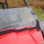 SUPER ATV HALF WINDSHIELD SCRATCH RESISTANT HONDA PIONEER 500 -17080