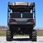 SUPER ATV HIGH CLEARANCE REAR A-ARMS HONDA PIONEER 700 - BLACK-16763
