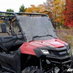 SUPER ATV FULL WINDSHIELD SCRATCH RESISTANT HONDA PIONEER 700 -17092