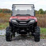 SUPER ATV FULL WINDSHIELD SCRATCH RESISTANT HONDA PIONEER 700 -0