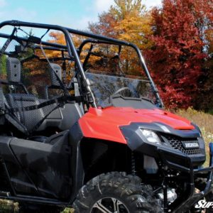 SUPER ATV HALF WINDSHIELD SCRATCH RESISTANT HONDA PIONEER 700 -0