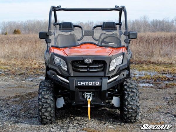 SUPER ATV HALF WINDSHIELD CFMOTO UFORCE 800 - TINTED-0