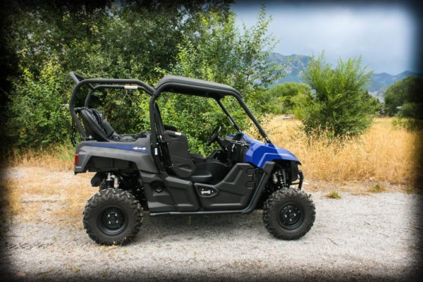 """REAR CAGE WITH 36"""""""" BENCH SEAT AND 2 HARNESSES YAMAHA WOLVERINE-0"""